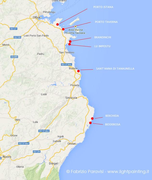 Cartina Sardegna San Teodoro.Diario Di Viaggio Sardegna Olbia Penisola Del Sinis Costa Verde E Chia