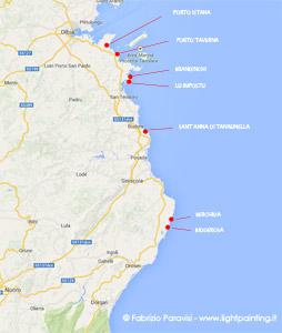Budoni Sardegna Cartina.Diario Di Viaggio Sardegna Olbia Penisola Del Sinis Costa Verde E Chia