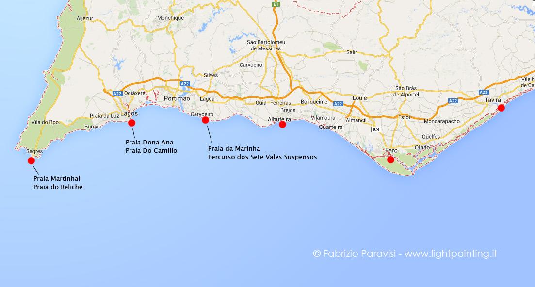 Cartina Del Portogallo Da Stampare.Diario Di Viaggio In Algarve Portogallo