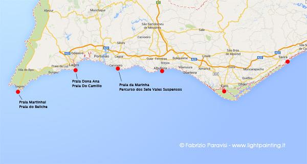 Cartina Geografica Algarve.Diario Di Viaggio In Algarve Portogallo